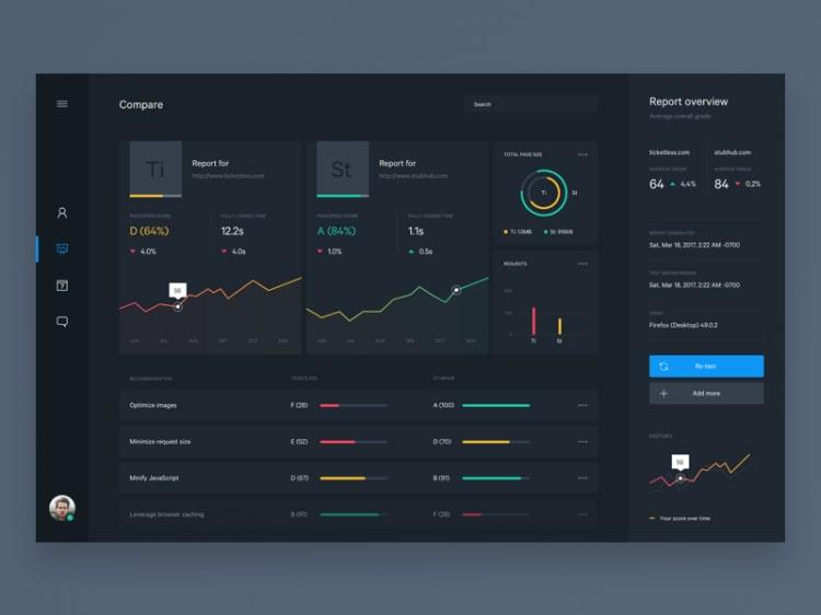 дизайн интерфейса веб приложения