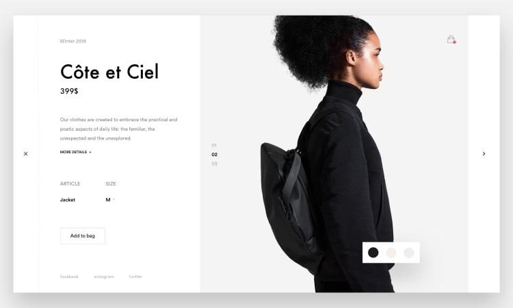 стили сайтов в веб дизайне минимализм