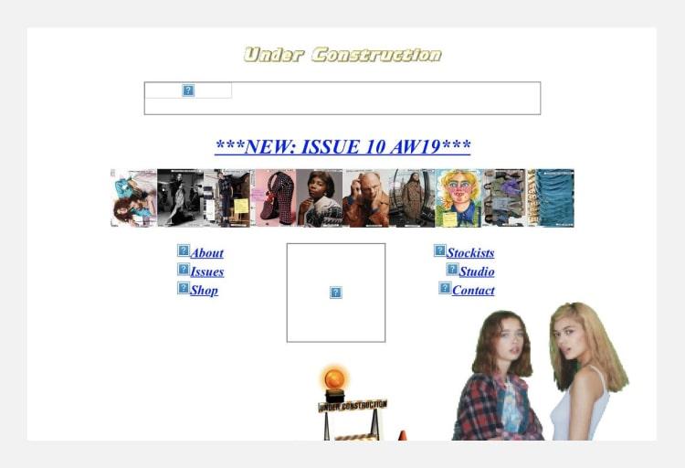 стили сайтов в веб дизайне брутализм