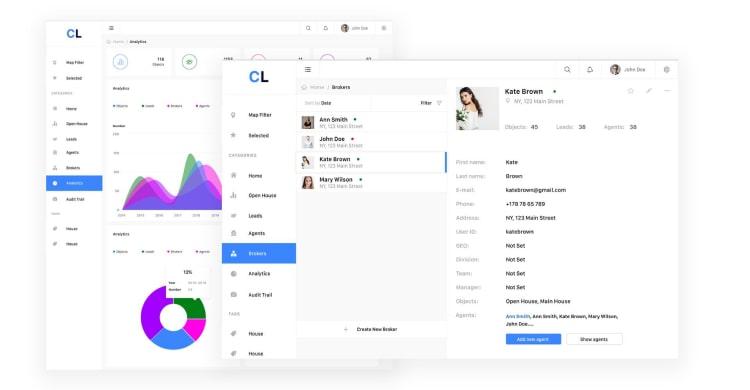 стили сайтов в веб дизайне flat